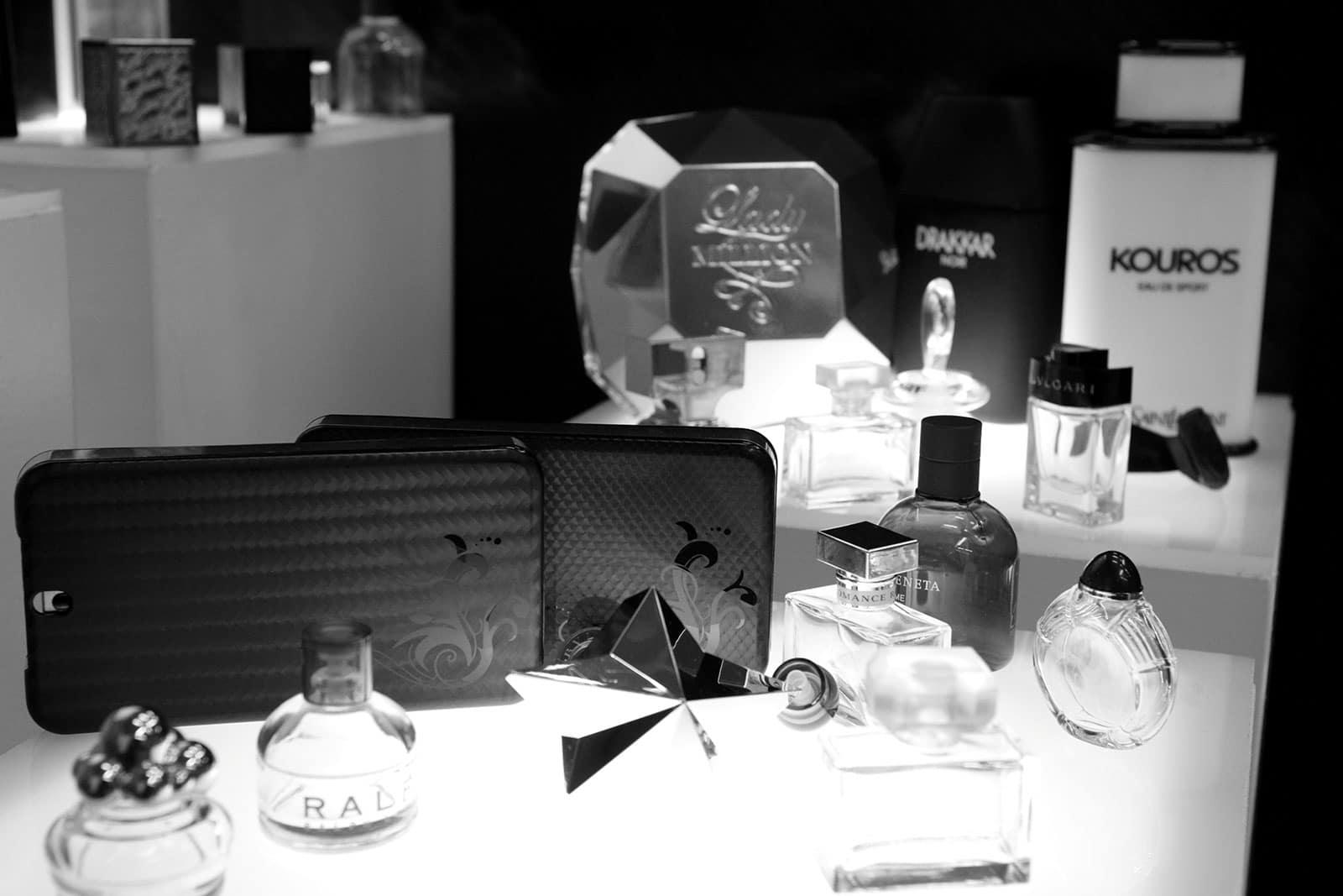 Moules plastiques parfumerie