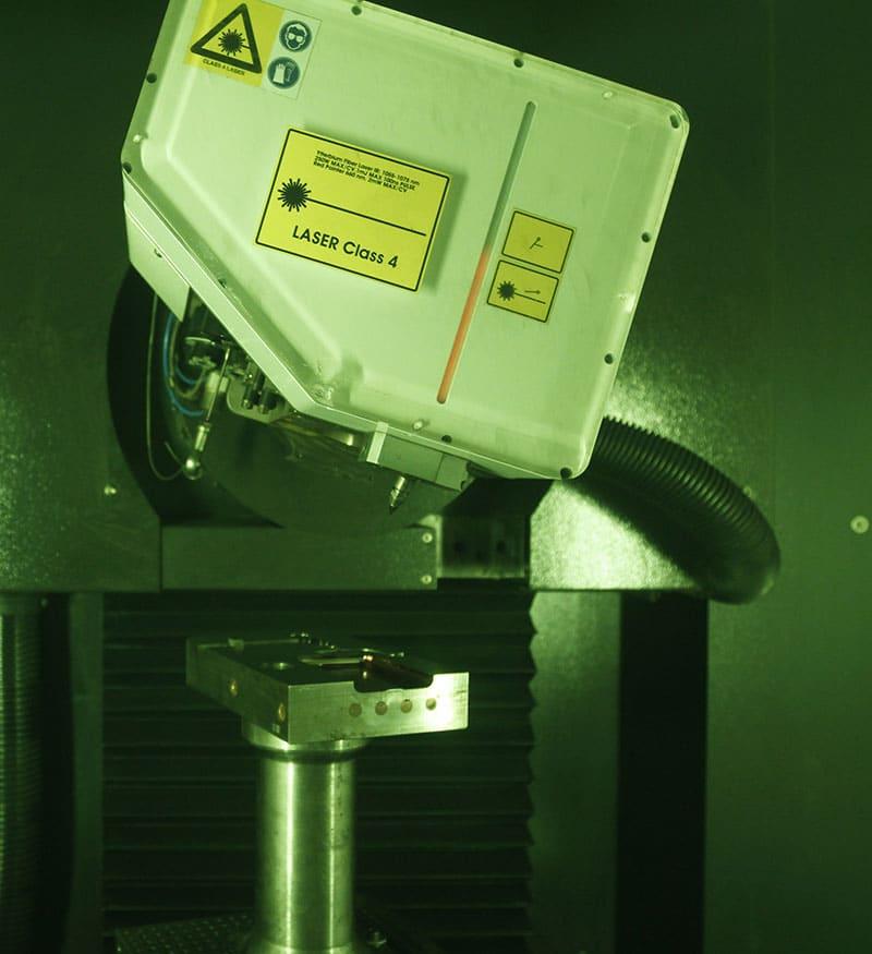 Machine usinage laser MCD